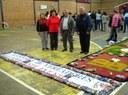 A Câmara participa da Confecção do tapete de Corpus Christi