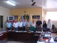 Deputado Francisco Pinho visita a Câmara Municipal
